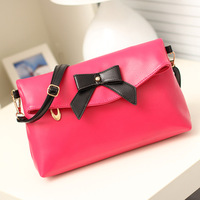 New 2014 women leather handbags designers brand women messenger bags high quality 12 colors  free shipping