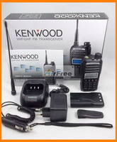 Holiday Sale FREE Shipping KENWOOD TH-F9 UHF VHF Dual Band Radio with FREE Car Charger 326