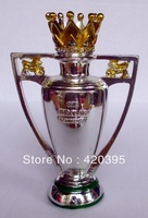 THE F.A. ENGLISH PREMIER LEAGUE CUP TROPHY MODEL REPLICA SMALL SIZE 15cm tall Net weigh 0.3kg Free ship