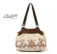 France Famous Brand New bolsas femininas 2014 simple elegant flower women tote bag handbag messenger bags Free Shipping  B11