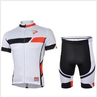 Free Shipping Team cycling Jersey + Shorts sets PINARELLO New Style In 2013 White 215