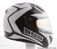 DHL OR EMS Free Shipping Gift Lens Ultra Light 1100g German Marushin White Line Motorcycle Racing Helmets 999RS