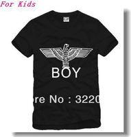 Free Shipping Size 90/100/110/120/130/140/150cm kids tshirt bigbang london boy eagle printed t-shirt 6 color 100% cotton