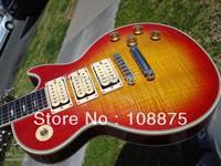 2013 HOT SALE Custom shop electric Guitar ECustom Ace Frehley Flametop Guitar 100% Excellent Quality