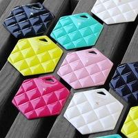 Diamond series Luggage Tag, hexagonal