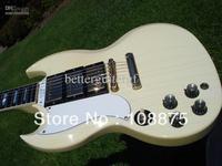 HOT SALE Custom shop electric Guitar Custom Shop Lefty Left Handed Alpine White 3 Pick Up 100% Excellent Quality
