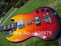 2013 HOT SALE 2007 Supreme 4 String Bass Fire Burst Flametop - 55 HD Images #4005100% Excellent Quality