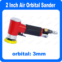2 Inch Air Orbital Sander Free Speed:15,000rpm 90 Degree Angle Sander A Great Pneumatic Tool for Sanding Work