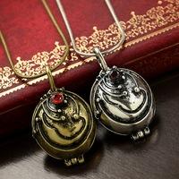 Hot sale,Fashion vintage necklace quirt grass necklace short design lovers chain