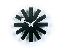 George nelson asterisk clock black/modern  fashion wall clock wholesale,factory price  clock
