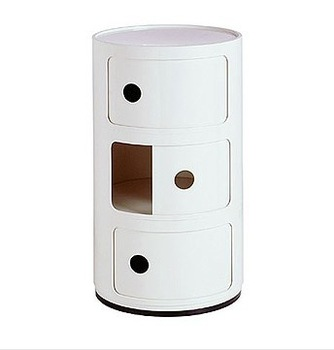 Componibili/ circular lockers/cabinet/night table side table storage/free shipping