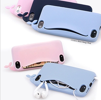 For iphone  4 s phone case silica gel protective case  for apple   5 phone case set