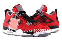 Cheap 2013 New J4 Toro Bravo Basketball Shoes Retro 4 For Men And Women Athletic Shoes Free Shipping
