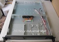 Top 168c server computer case 1u industrial computer case 2 hard drive standard optical drive