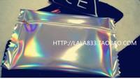 2013 Hottest !!!  PU Hologram Laser Candy Shape Bag Womens Day Clutch Bag  Handbag  Female