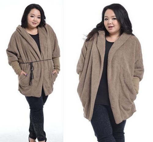 Plus Size Women Winter Fashion Winter Overcoat Plus Size
