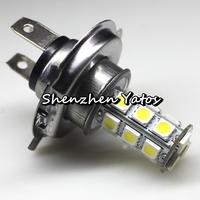 Super Bright Car 18LED 5050 SMD H7 Xenon-White Fog Headlight Lamp Bulbs DC 12V