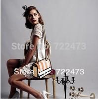 2014 free shipping,3D cartoon messager bag, funny 3D/2D bag,women's messager bag 3d 2d cartoon free shipping