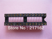 17 pcs IC Socket Adapter Pitch 2.54mm 28 PIN Round DIP X=7.62mm High Quality HOT SALE