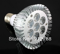 WHOLESALE LIGHTING bulb light 7*3W 21W E27 PAR30 110v/220v  2 years warranty(10units/lot free shiipping)