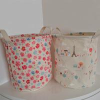 New arrival zakka fluid storage bucket sundries storage basket socks underwear laundry basket toy storage