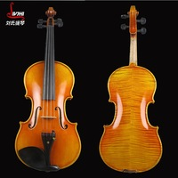 High-grade violin, handmade solid wood vintage instruments. Violin 4/4, factory direct wholesale