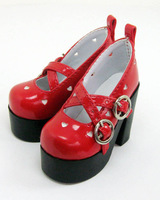 Free shipping 1/3 1/4 high quality fashion cute bjd doll shoes