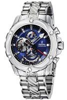 Festina Uhr Multifunktion Herren-Armbanduhr Chronograph New Quartz Steel Strip F16525/4
