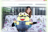 Minions Very Big Size 80CM 3D Despicable ME 3KG Weight Plush Toy 32Inch Minion Jorge Stewart Dave NWT Children Gift