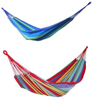 Thickening single canvas hammock double canvas hammock swing picnic blanket lashing