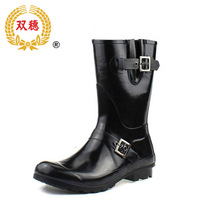 Women's brief comfortable rain boots fashion knee-high rainboots eco-friendly rubber shoes water shoes rain shoes