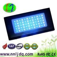 FREE SHIPPING 120W Dimmable LED Aquarium Light 60*3 watts BridgeLUX chip 30 pcs white 14000k 30 pcs 460nm blue for coarl actinia