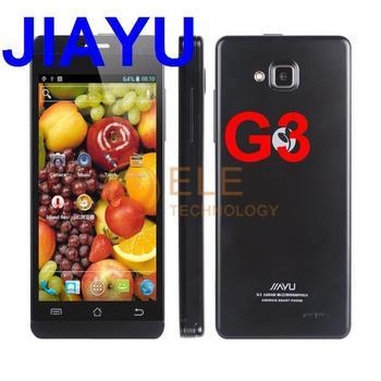 Jiayu G3C MTK6582 Quad Core 1.3GHz 4.5 inch IPS screen android 4.2 1GB 4GB GPS BT 3G SIM card slot smart phone