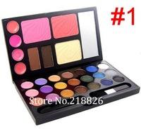 Fashion new 30 Color Eye shadow Blusher Lip Gloss Eye brow  Cosmetic Makeup Palette set