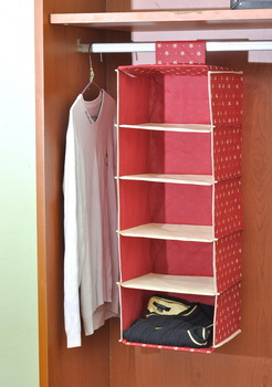 One hundred dew hanging wardrobe closet Storage Bag storage bags underwear hanging pocket storage pouch