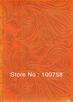 Free shipping ! High quality african sego headtie HT0354 orange