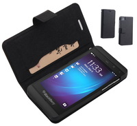 Original Doormoon Brand genuine leather flip case cover for blackberry Z10, moblie phone cases for BB Z10,free shiping