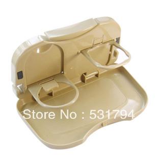 Free shipping! Car folding cup holder retractable table, car cup holder cup holder car cup holder water(China (Mainland))