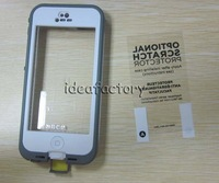 Top AAA Proof Waterproof Cases Screenless Clear Case for iphone 4 Galaxy nuud NUUD DHL 20PCS/LOT