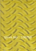 Free shipping ! High quality african sego headtie HT0359 yellow