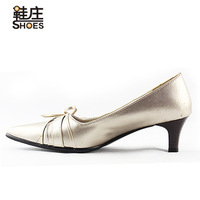 Single shoes gold 17103 - 4