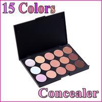 Hot sale 15 Color Concealer Camouflage Makeup Palette Set Press Powder Make Up Palette, Free Shipping, Dropshipping