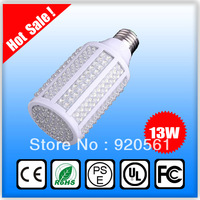 led corn bulb lamp 5w 7w 10w 13w 18w high brightness light 108 166 213 216 330leds 110V&220V E27 80 lumen/w free shipping