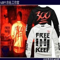 Hba 300 sweatshirt hood by air fashion street style male casual pullover sweatshirt