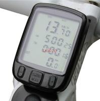 24 Functions Waterproof LCD Cycling Bike Bicycle Computer Odometer Speedometer