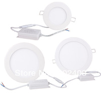 6W/12W/18W LED Panel Light Round Ceiling Downlight Lamp White /Warm White
