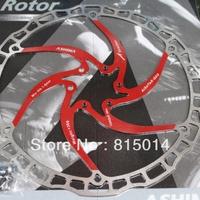 Ashima ultra-light mountain bike disc disc brake disc 203mm