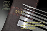 Pedicure thick 3mm tungsten white professional pedicure knife set pocket strickenly