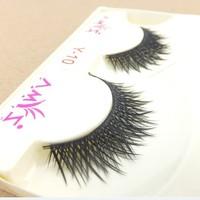 Handmade Dense 10 Pair Thick Natural Dolly Wink False Eyelashes Fake Eyelash Eye Lashes Voluminous Makeup Wholesale