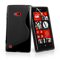 High Quality Soft TPU Gel S line Skin Cover Case For Nokia Lumia 720 Free Shipping